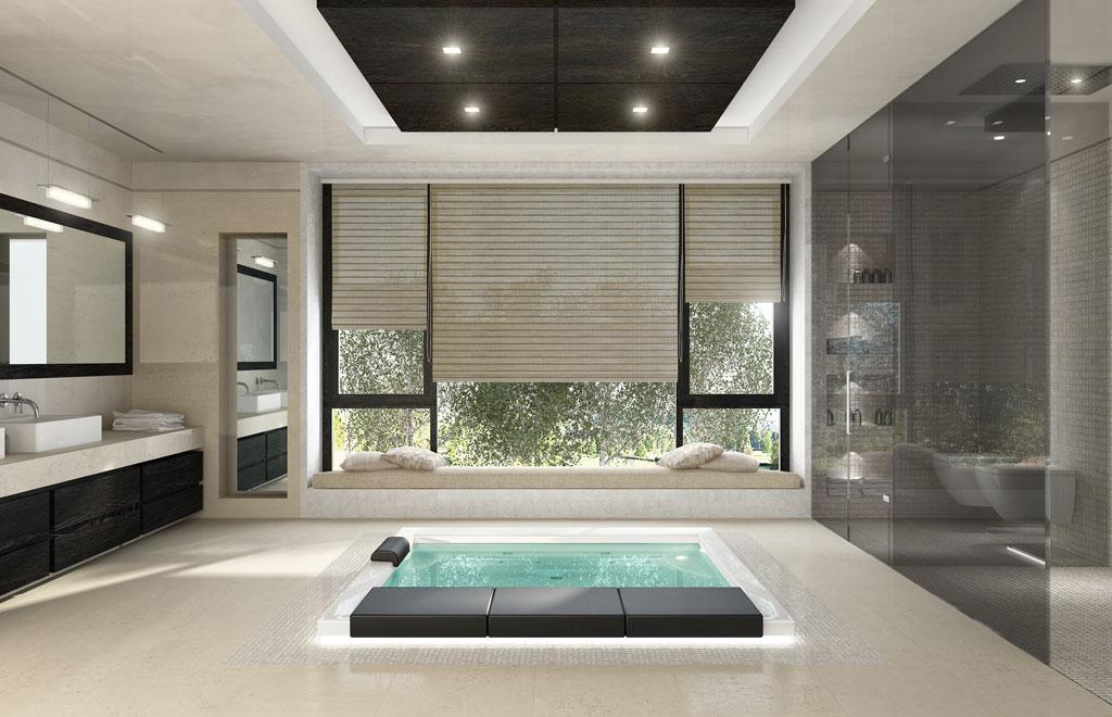 Bagno moderno con vasca e doccia bagni moderni con doccia - Bagno moderno con vasca ...