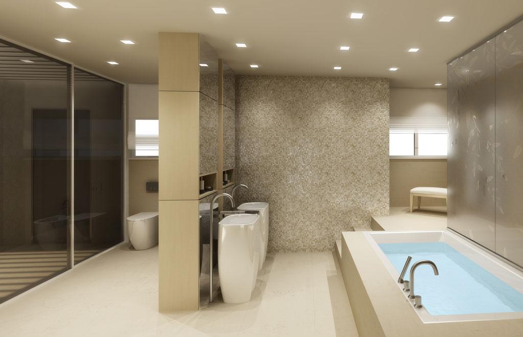 bagno moderno » bagno moderno immagini - galleria foto delle ... - Progetti Di Bagni Moderni